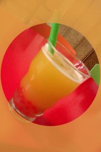 Bubble Tea hawaiano preparado en Madrid