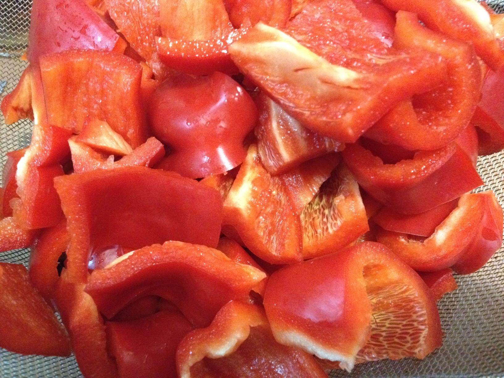 Receta de mermelada de pimientos casera gourmet like me - Como hacer mermelada de pimiento ...