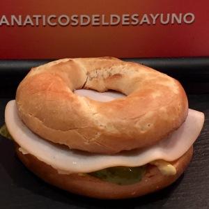 bagel mostaza receta