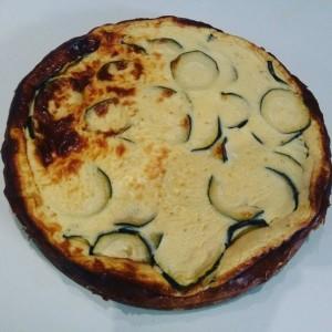 torta de queso salada al horno