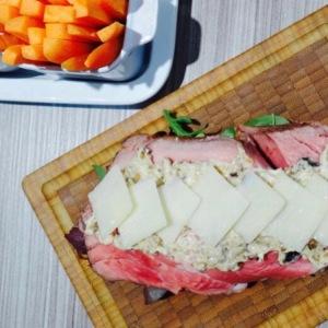 sandwich de roast beef frio receta
